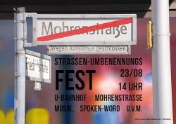 Flyer f�r das Stra�enfest am 23. August