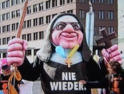 Genau ein Jahr nach der Anti-Papst-Demo vom 22. September 2011 wird in Berlin erneut demonstriert