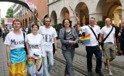 Solidaritätsaktion: Münchner Szene-Vereine luden LGBT-Aktivisten aus der Ukraine zum CSD in die bayrische Landeshauptstadt ein