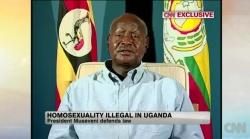 Ugandas Präsident Museveni redet im CNN-Interview die Welt schön