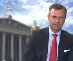 Österreich rückt nicht nach rechtsaußen: In Wahlkampfveranstaltungen hatte sich der unterlegene FP-Kandidat Norbert Hofer über Regenbogenfamilien lustig gemacht - Quelle: FPÖ