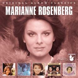 """Das Box-Set zu Marianne Rosenberg enth�lt die Alben """"Fremder Mann"""", """"Lieder"""", """"Tr�ume"""", """"Ich bin wie du"""" und """"Lieder der Nacht"""""""