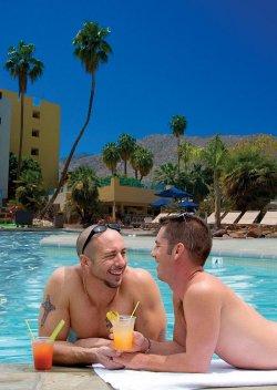 Die Wüstenoase Palm Springs ist eines der beliebtesten Gay-Reiseziele in den USA