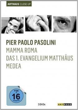Die Box gibt einen repr�sentativen Einblick in Pasolinis Werke