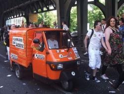 CSD-Gef�hrt der Berliner Piraten in 2012. Dieses Jahr soll es etwas gr��er sein...