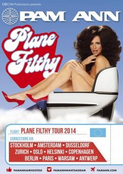 "Das Plakat zur ""Plane Filthy Tour 2014"""