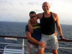 Werden im September live von der Insel La R�union berichten: Joachim Lehn (li.) und Stefan