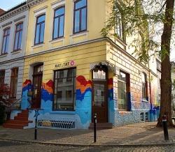Das RAT&TAT � Zentrum f�r Schwule und Lesben befindet sich in der Theodor-K�rner-Stra�e 1 in Bremen