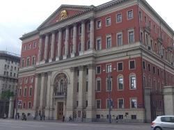 Das Moskauer Rathaus, Hort der Homophobie - Quelle: Norbert Blech