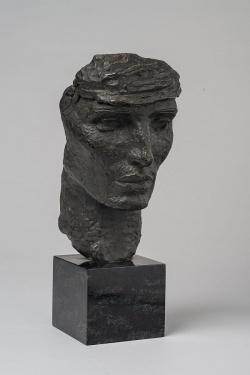Selbstportr�t (Bronze) aus dem Jahr 1923