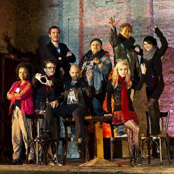 """Ein Bild von der ersten Probe. Premiere von """"Rent"""" ist am 26. Dezember 2012 - Quelle: Jörg Peter"""