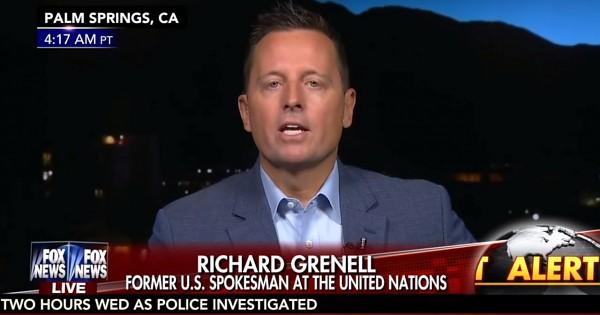 Richard Grenell soll US-Botschafter in Berlin werden