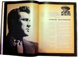 Der Hollywood-Star Rock Hudson im Porträt von 1957 - Quelle: Salon-Verlag