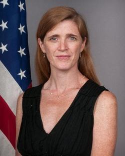 US-Botschafterin Samantha Power bef�rchtet, dass der Ausschluss dem Kampf gegen HIV/Aids erheblich schadet - Quelle: US State Department