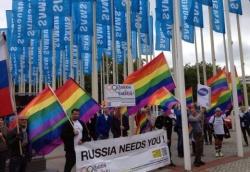Protest gegen Samsung in Berlin - Quelle: Enough is enough