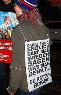 Protest gegen Sarrazins Tabubruch in Dresden: Endlich darf man wieder gegen Minderheiten hetzen!