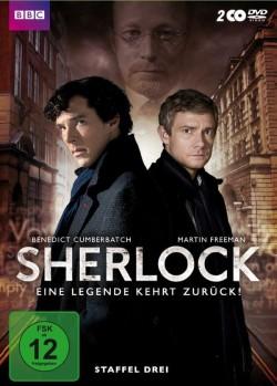 """Die DVD-Box bietet neben den drei Folgen der Staffel 3 ein aufschlussreiches Making-Of �ber den """"Todesfall"""" von Sherlock und die in der Fan-Community daraufhin entstandenen Theorien sowie ein �berraschend lesenswertes Booklet"""