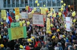 Die Gegner einer Gleichstellung gingen in den letzten Monaten mehrfach auf die Stra�e