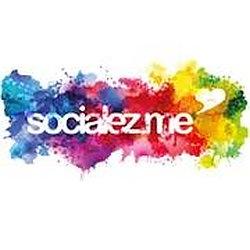 Das Logo von socialez.me