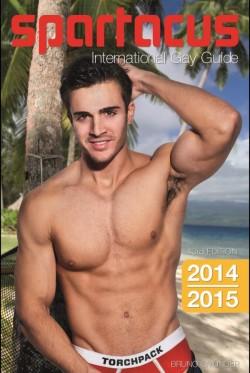 """Der 43. """"Spartacus International Gay Guide"""" ist Anfang März 2014 im Bruno Gmünder Verlag erschienen"""