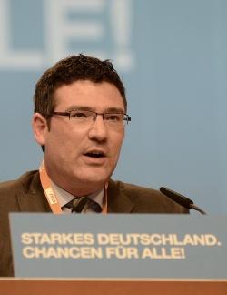 Chancen für alle, Ehe bislang nur für manche: Stefan Kaufmann auf dem CDU-Parteitag im Dezember 2012 in Hannover - Quelle: CDU/CSU-Bundestagsfraktion