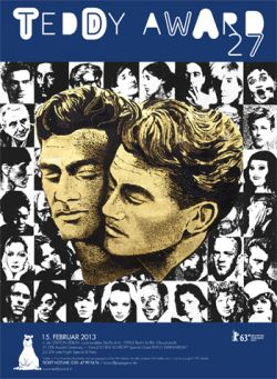 Das Poster f�r den 27. Teddy Award erinnert an den 100. Geburtstag von Jean Marais