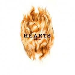 """""""Hearts"""" ist am 6. April 2012 als LP/CD/Download erschienen, gemeinschaftlich ver�ffentlicht von Hazelwood Vinyl Plastics und dem bandeigenen Label Avantpop."""