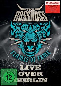 """Der Live-Release """"Flames Of Fame – Live Over Berlin"""" istt als CD, DVD und Blu-ray erhältlich"""
