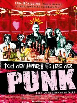 """Poster zum Film: """"Tod den Hippies!! Es lebe der Punk"""" läuft seit 26. März 2015 im Kino"""