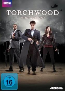 """Die 10-teilige Serie """"Torchwood – Miracle Day"""" ist die packende, internationale Fortsetzung der Erfolgsserie von Russell T. Davies. Auch als Blu-ray erhältlich."""