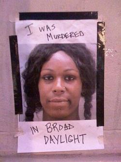Die 21 Jahre alte Tyli'a Mack wurde am 26. August 2009 in Washington DC wegen ihrer geschlechtlichen Identit�t ermordet.