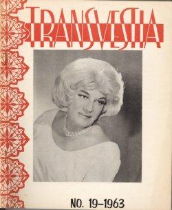 "Cover des Magazins ""Transvestia"" (1963) - Quelle: Bibliothek des Schwulen Museums"