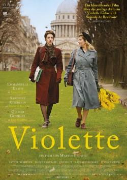 """Plakat zum Film: Bundesweiter Kinostart von """"Violette"""" ist am 26. Juni 2014"""