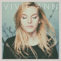 """Das Deb�talbum """"Flowers & Tigers"""" von Vivie Ann ist am 2. September 2016 erscheinen"""