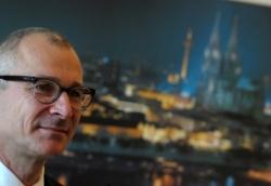 Volker Beck mit Kölner Dom - Quelle: Angelika Kohlmeier