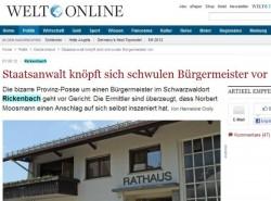 """Screenshot von """"Welt Online"""": Vorher..."""