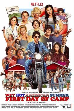 """Poster zum Prequel: Die acht Folgen von """"Wet Hot American Summer – First Day in Camp"""" gibt es ab 31. Juli 2015 in deutscher Synchronisation auf Netflx"""