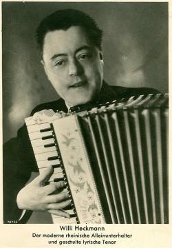 Werbepostkarte von Willi Heckmann aus dem Jahr 1936 - Quelle: Carl Linke (Privateigentum Klaus Stanjek)