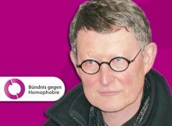Der Berliner Kardinal steht dem Anti-Homophobie-Bündnis nicht zur Verfügung - Quelle: Wiki Commons / Membeth / CC-Zero, Montage: queer.de