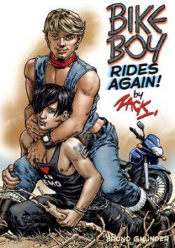 Der Comic erzählt die lustvoll‐lasterhaften Abenteuer von Bike Boy
