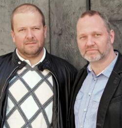 Die beiden Gesch�ftsf�hrer der neuen Bruno Gm�nder GmbH: Frank Zahn (li.) und Michael Taubenheim - Quelle: Bruno Gm�nder GmbH