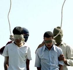 Hinrichtung von jungen Schwulen im Iran (2005)