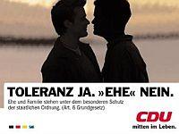 CDU/CSU - Kritik an 'ideologischer Arroganz' der CDU