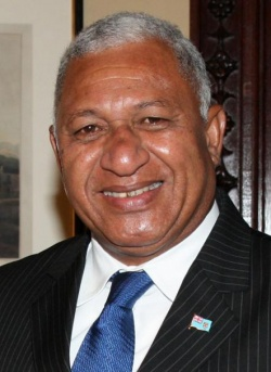 Premierminister Frank Bainimarama - Quelle: Foreign and Commonwealth Office / cc by 2.0