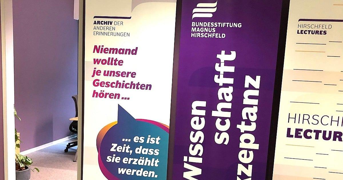 Die Hirschfeld-Stiftung muss diverser werden!