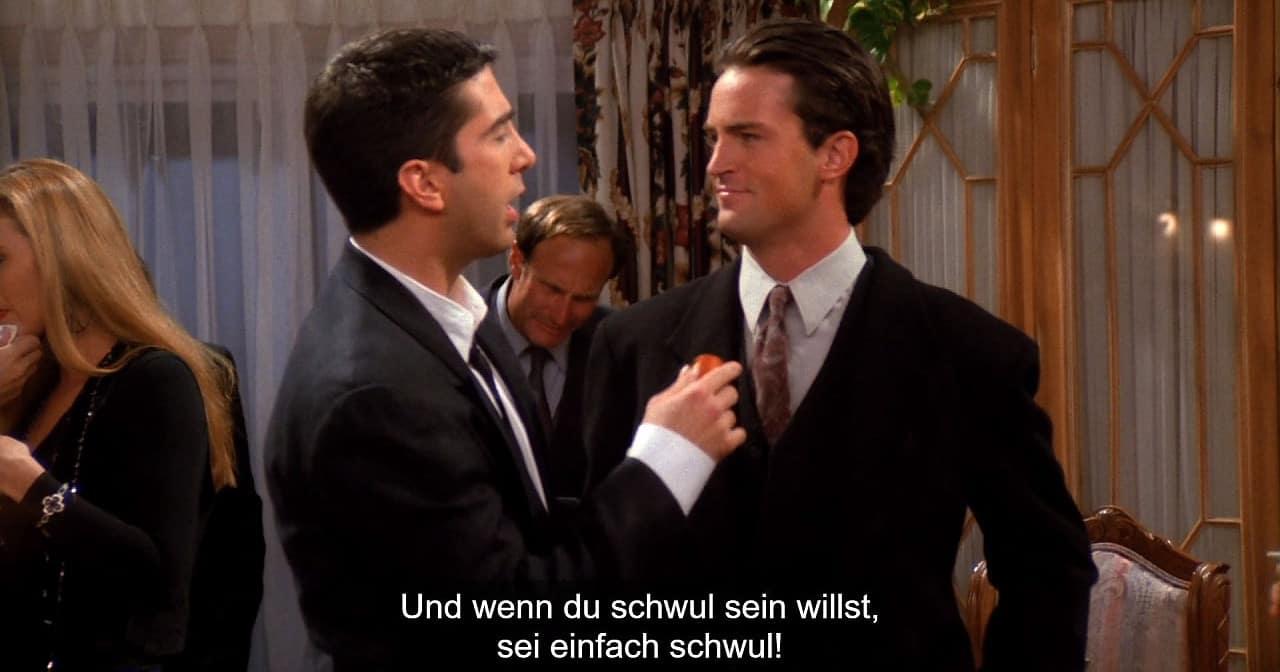 """""""Friends"""": Chandler sollte angeblich schwul sein"""