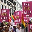 Seit genau einem Jahr: Regierung ignoriert Vorsto� des Bundesrats zur Ehe f�r alle
