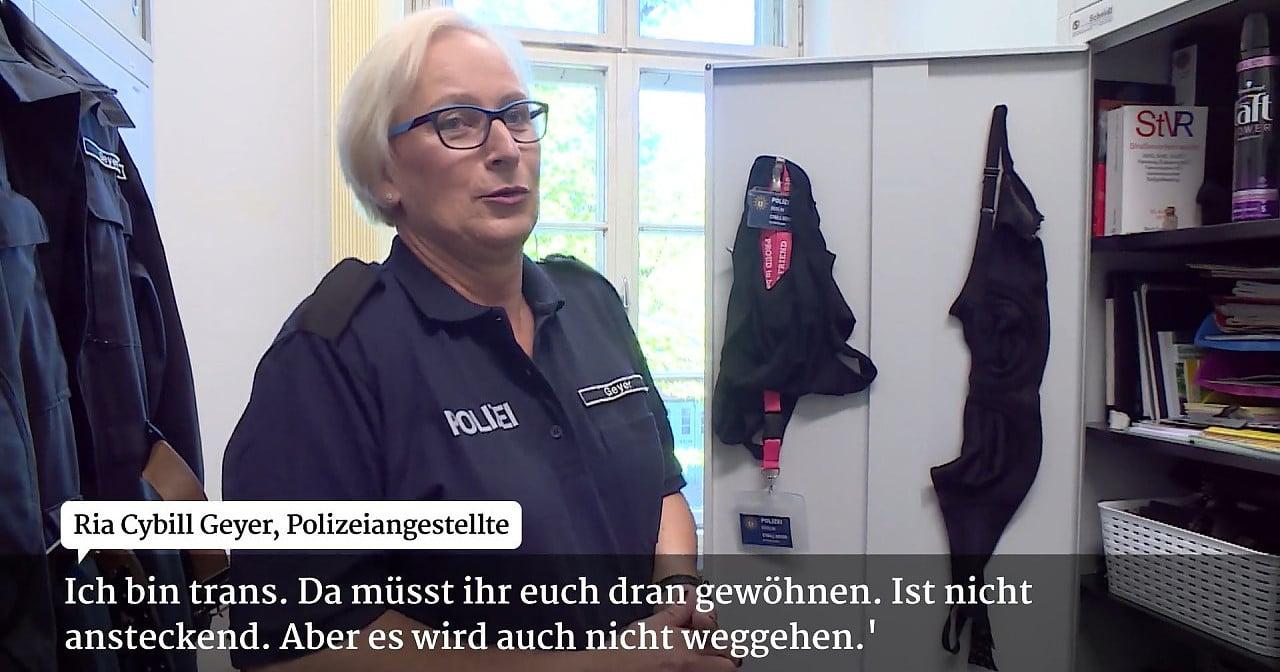 Trans Polizistin will in den Bundestag
