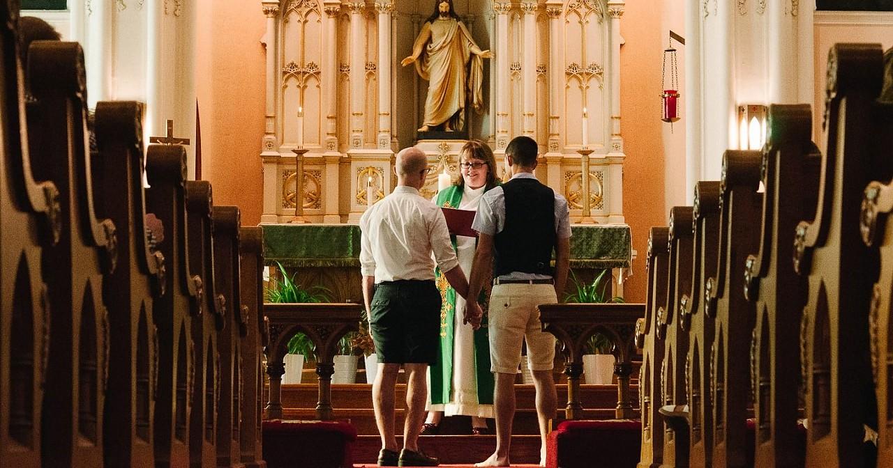 Westfälische Kirche: Evangelische Trauung auch für Schwule und Lesben