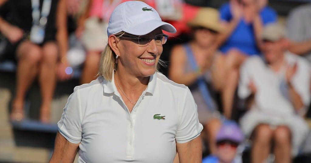 Martina Navratilova wird 65